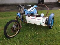 Classic sidecar cross mx chassis