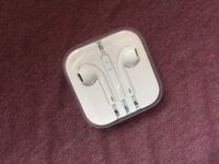 Unused Apple Aux Earphones (14 Day Guarantee|Came With iPhone|Deliver+Post) [][]