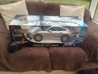 Radio controlled Porsche 911 turbo