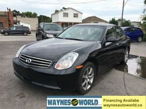 2005 Infiniti G35 Luxury **LOADED & AWD**