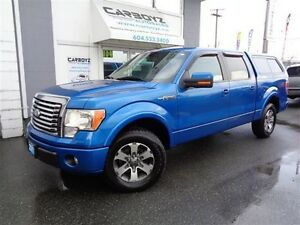 2011 Ford F-150 FX2 Crew Cab, Leather, Sunroof, Canopy