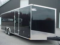 2016 Qualitec CARGO 8'.6 X 24' V-NOSE 2 ESSIEUX TORSION 8'.6X24'