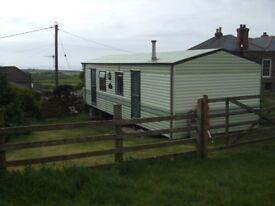 Holiday Caravan on farm St.Ives Cornwall June 23rd - June 30th Self Catering near beach
