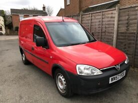 2008/57 VAUXHALL CORSA COMBI VAN 1.3 CDTI MANUAL, EX-ROYAL MAIL***NEW MOT***GENUINE LOW 74,000 MILES