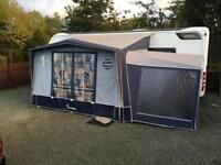 Isabella magnum awning with matching Annex