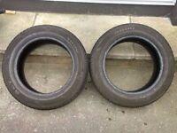 """Bargain 205/60/16"""" Part Worn Tyres 7.5mm / 7mm"""