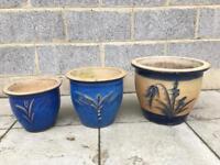 Ceramic Gardens pots