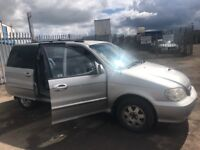 Kia Sedona LS Automatic 2.9 CRDI SPARE PARTS AVAILABLE BREAKING CAR