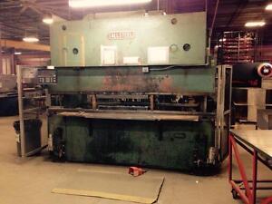 Allsteel 120 ton x 10' Hydraulic Press Brake, with DRC cnc ba ga