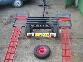 Vehicle Recovery/Transporting Trailer