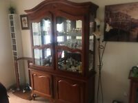 Solid wood sideboard and drinks cabinet