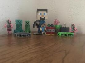 LOT of Minecraft collectibles special edition, figures, keyrings