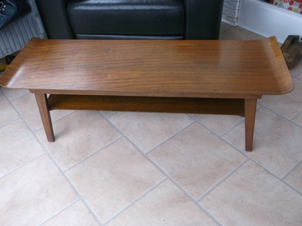 Vintage myers sleigh coffee table in hebburn tyne and wear vintage myers sleigh coffee table geotapseo Image collections