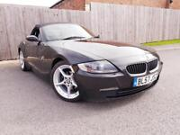 BMW Z SERIES 2.0 Z4 SPORT ROADSTER 2DR (black) 2007