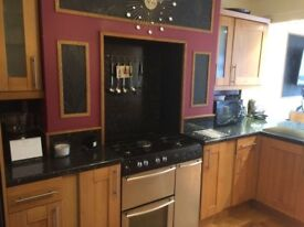 Solid oak kitchen doors and solid oak units for sale