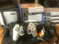 PS2 (2 controllers, 45 games & memory card)
