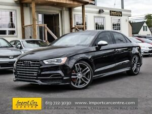 2015 Audi S3 2.0T Technik NAVI BLIS BACKUP CAMERA