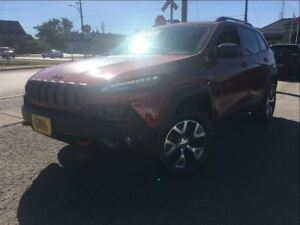 2017 Jeep Cherokee Trailhawk 4X4 CLOTH & LEATHER NAVIGATION