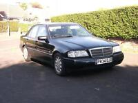 1997 MERCEDES C200 SPORT MANUAL 5 SPEED MOT 12 MONTHS MOT