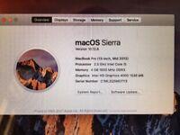 13 inch MacBook Pro Yosemite (mid-2012)