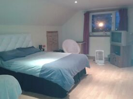 Very large double room to rent with lots of storage space, parking, own kitchen and bathroom