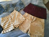 Bundle of Women's Jeans & Shorts Size 8-10...Abercrombie, Jack Wills, G Star
