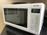 Panasonic Slimline 1000Watt microwave with oven function
