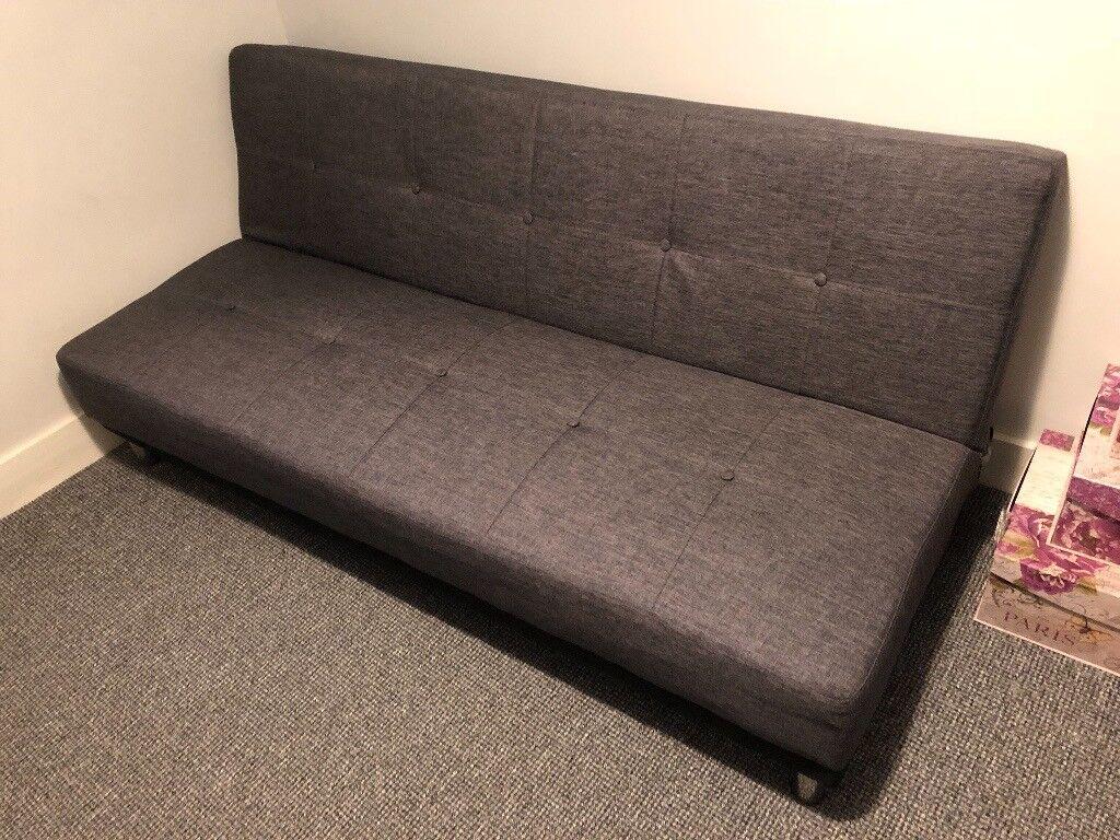 Duke Fabric Futon Sofa Bed 85 Rrp 249