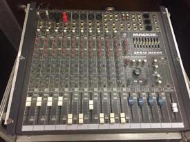 Mackie CFX12 mixer, sold with SKB Flightcase