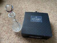 Stuart Crystal decanter