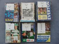 200 Sheffield Wednesday Football Programmes mainly from early 1990's