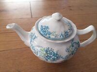 Floral teapot - unused