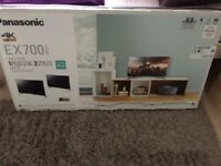 Pansonic Ex700 4k , 40 inch tv with soundbar and subwoofer