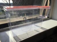 15 litre plastic aquarium £5