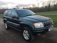 Jeep Grand Cherokee Limited Automatic Turbo diesel 4x4 Fantastic service history 12 months mot