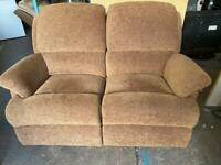 FABRIC SOFA IN EXCELLENT CONDITION 2 SEATER