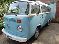"""Volkswagon Type 2 Bay Window Camper Van 1979 """"Percy"""""""