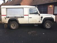 land rover defender 110 heavy duty special vehicle