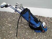 Junior Golf Clubs, Golf Bag, Golf Shoes and Glove for sale