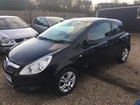 VAUXHALL CORSA 1.2 SXI 3DR 2007 IDEAL FIRST CAR CHEAP INSURANCE