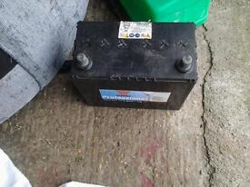 2 x car batterys for sale both fully charged and ready to go