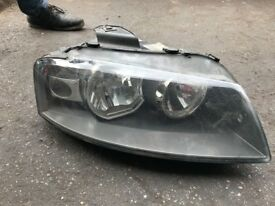 05 AUDI A3 DRIVE SIDE HEADLIGHTS GOOD CONDITION WORKING GOOD