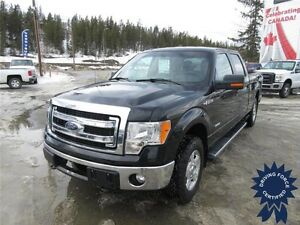 2014 Ford F-150 XLT Super Crew 4x4 - 53,090 KMs, 3.5L V6 Gas