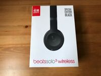 Beats solo 3 brand new and still in shrink *one year warranty*