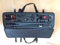 Konova Jib J2 150cm Professional Camera Crane - with carry case