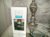 YANKEE CANDLE REED DIFFUSER --NEW--CLEAN COTTON