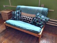 Double Futon Sofa Bed - Excellent condition