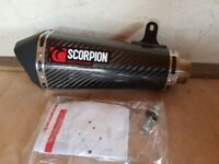 Scorpion Serket Taper Carbon Oval Exhaust Silencer
