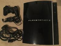 PlayStation 3, Immaculate PS3 With Controller, Charger And Power Cables