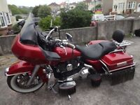 Harley FLTRi Roadglide high touring miles.some chrome lifting on ally, best to call or view